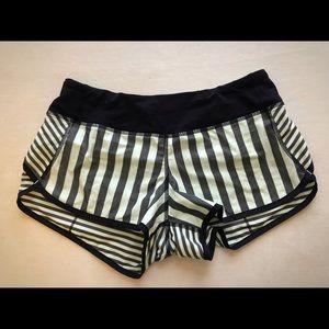 RARE - Lululemon Speed Shorts Size 4